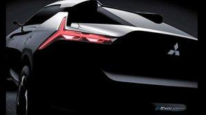 La nuova Mitsubishi e-Evolution Concept